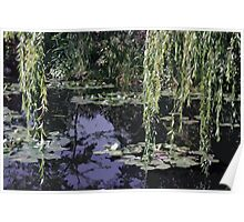Claude's pond Poster