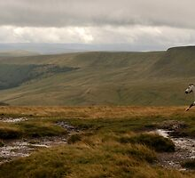 Brecon Beacons, Wales by Scott Moncrieff