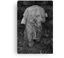 """Childs Grave, Rock Cemetery, Nottingham"" Canvas Print"