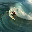 surfer and wave by PeterDamo