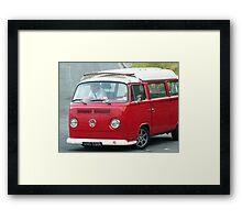 Red Kamper Framed Print