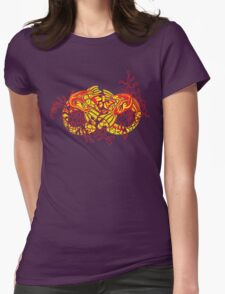 Double Koi Womens Fitted T-Shirt