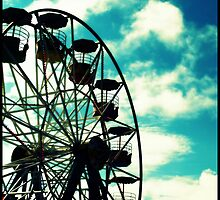 Big Wheel, Scarborough. by Claire Gibbs