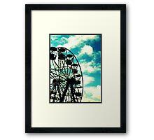 Big Wheel, Scarborough. Framed Print