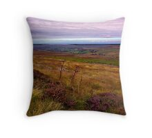 North Yorks Moors National Park Throw Pillow