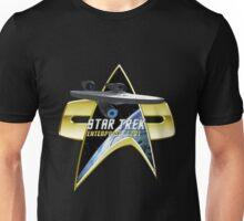 StarTrek Enterprise  Com badge Unisex T-Shirt