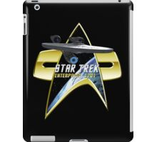 StarTrek Enterprise  Com badge iPad Case/Skin