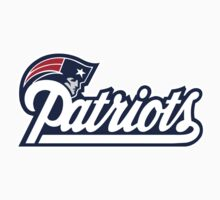 New England Patriots logo 1 Kids Tee