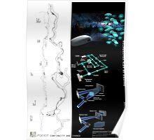 HOLOGRAMMIC SPACE. Functiune- galerie de arta holografica Poster