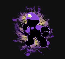 Super Smash Bros. Purple Mario Silhouette Unisex T-Shirt