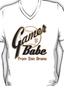 SF Giants Gamer Babe from San Bruno T-Shirt