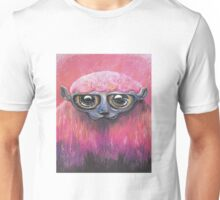 Pink Sheep Acrylic Color Painting Unisex T-Shirt