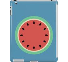 Watermelon Polka Dot on Light Blue iPad Case/Skin