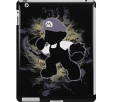 Super Smash Bros. Black Mario Shirt iPad Case/Skin