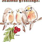 3 Little Robins - Season&#x27;s Greetings! by Maree Clarkson