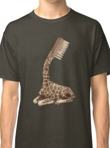 giraffe brush Classic T-Shirt
