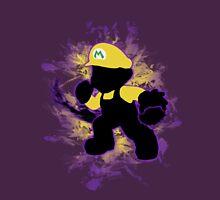 Super Smash Bros. Yellow/Wario Mario Silhouette Unisex T-Shirt