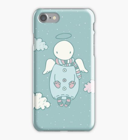 Angel in the Sky iPhone Case/Skin