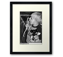 VNDERFIFTY YOUNG PERVERT Framed Print