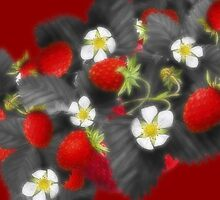"Selective ""coloured and Orton"" Strawberries... by Qnita"