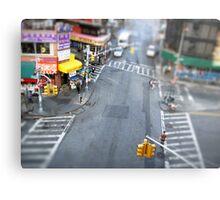 New York City Crossroad Miniature Metal Print