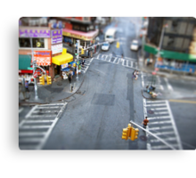 New York City Crossroad Miniature Canvas Print