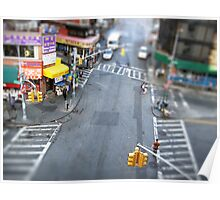 New York City Crossroad Miniature Poster