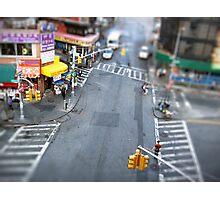 New York City Crossroad Miniature Photographic Print