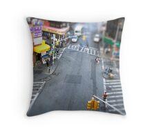 New York City Crossroad Miniature Throw Pillow