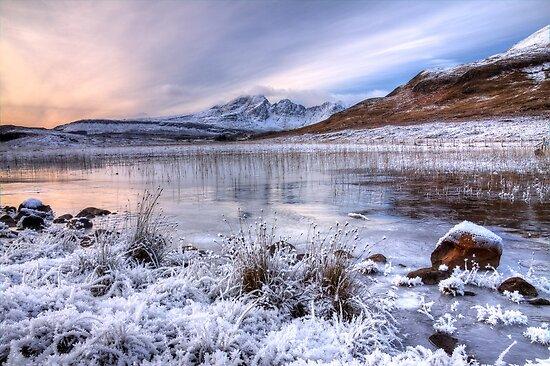Blaven in Winter Light, Isle of Skye. Scotland. by photosecosse /barbara jones