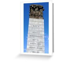 The Cenotaph - Melbourne Greeting Card