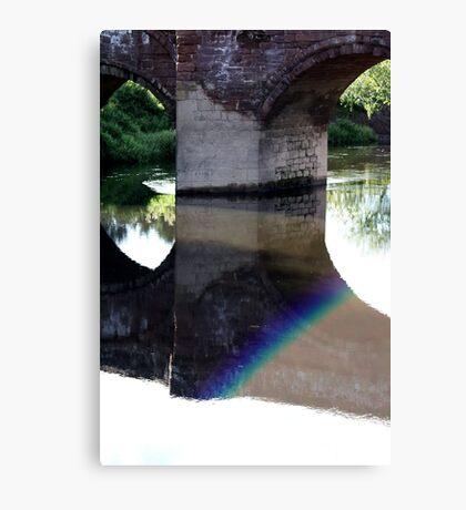 A Rainbow suprise. Canvas Print