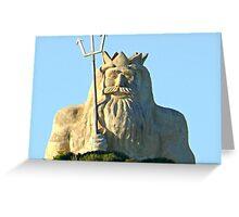 King Neptune    Two Rocks   Western Australia Greeting Card