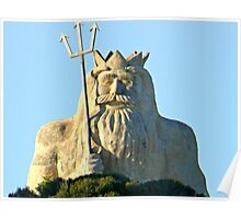 King Neptune    Two Rocks   Western Australia Poster