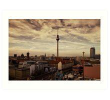 TV Tower, Berlin Art Print