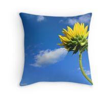 Growing Skyward Throw Pillow