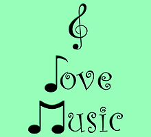 I Love Music - Gypsy Green by moonshinepdise