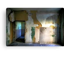 Abandoned Interior Canvas Print
