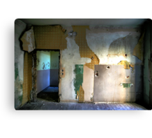 Abandoned Interior Canvas Print