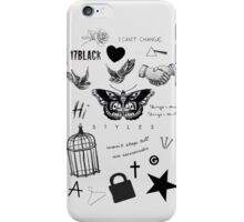 Harry's Tattoos Case iPhone Case/Skin