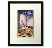 The quest Framed Print