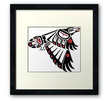 Kahkakiw - Raven Framed Print