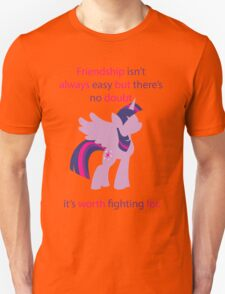 Twilight Friendship  Unisex T-Shirt