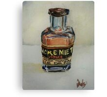 Vintage Ink Canvas Print