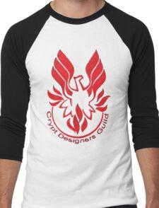 Crypt Designers Guild - Phoenix Red Men's Baseball ¾ T-Shirt