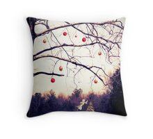 A Northern Virginian Christmas dream Throw Pillow