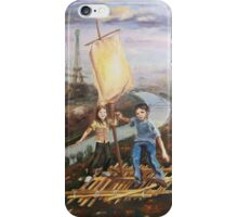 Au-dessus Paris iPhone Case/Skin