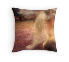 Close-up Flamenco Throw Pillow