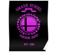 Smash School United (Magenta) Poster