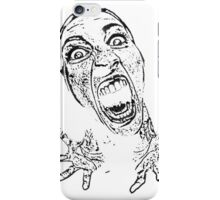 Sublime Scream White iPhone Case/Skin